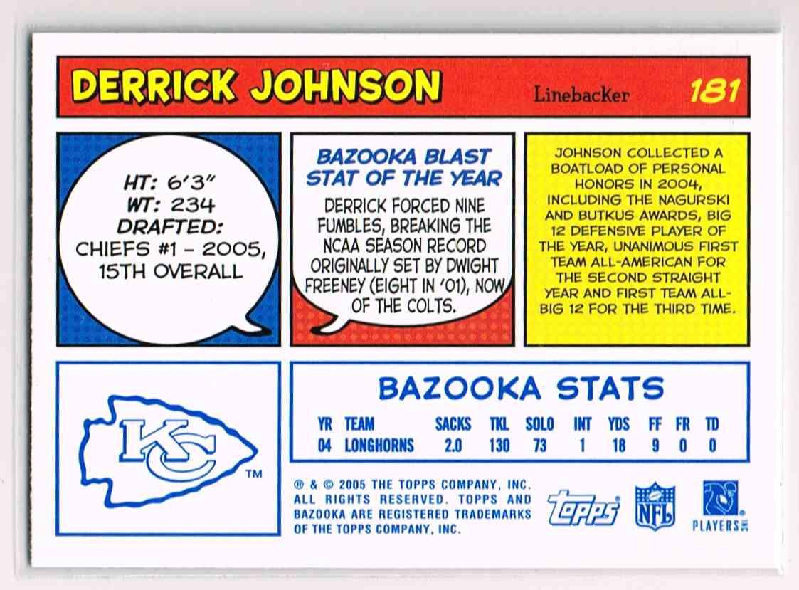 derrick city singles Kansas city chiefs oakland raiders  derrick johnson cards college attended: texas year set team  football card singles football cards by set.