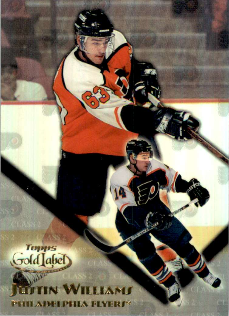 2000-01 Topps Gold Label Class 2 Justin Williams #106 card front image