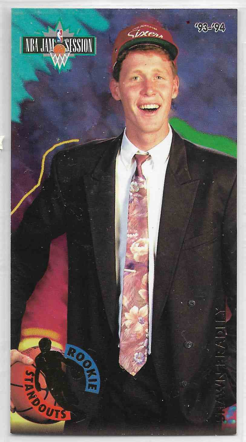 1993-94 Fleer NBA Jam Session Shawn Bradley #2 card front image