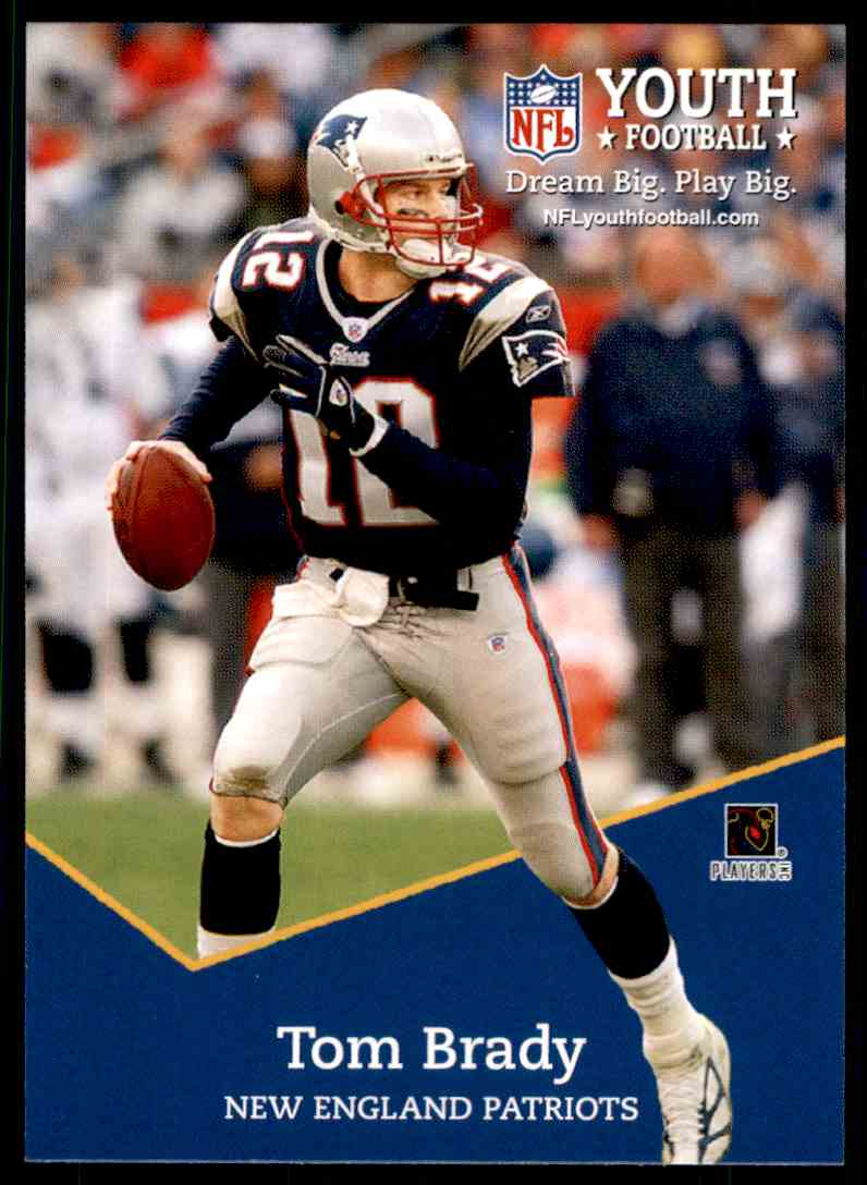 2005 Topps Youth Football Tom Brady #8 on Kronozio