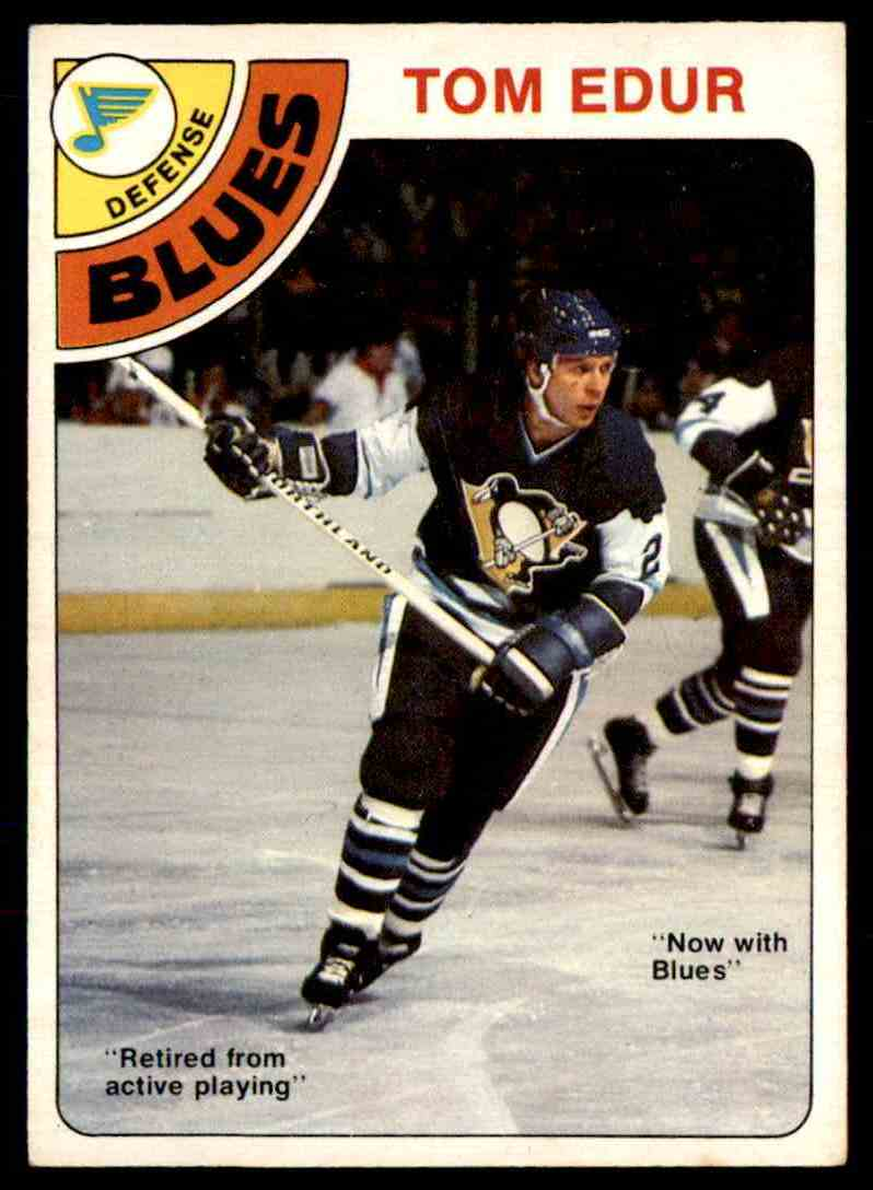 1978-79 O-Pee-Chee Tom Edur #119 card front image