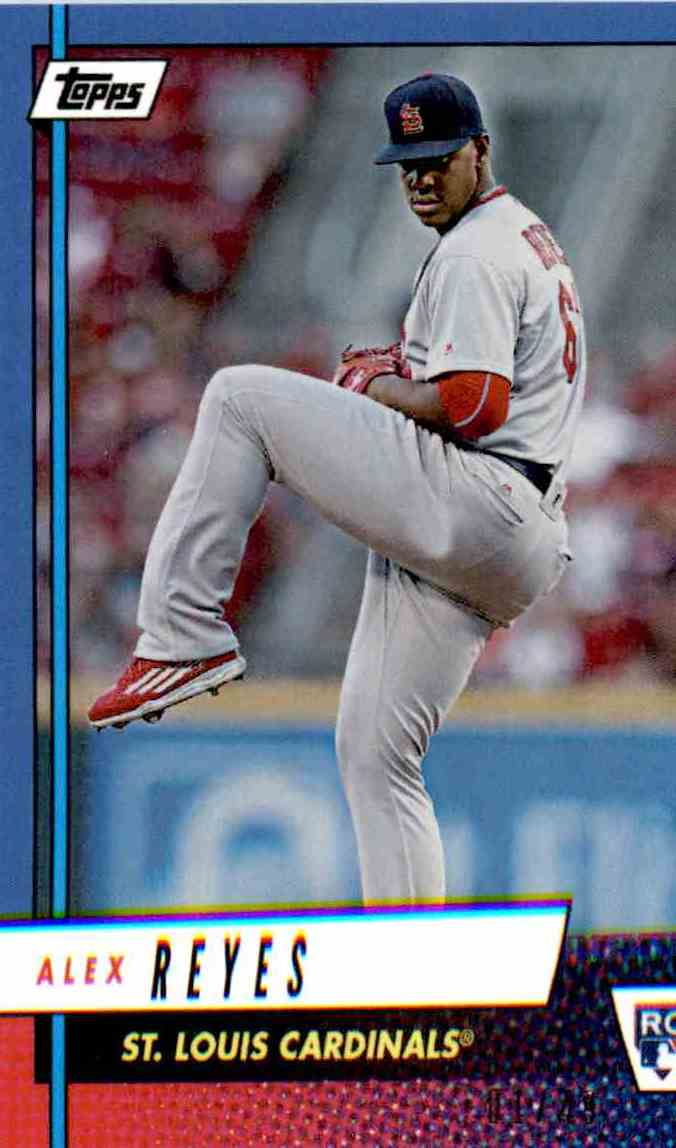2017 Topps Rookie Class Blue Alex Reyes card front image