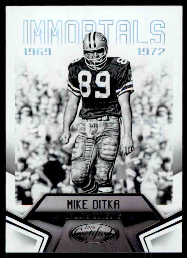 new concept 76616 3f5d8 2016 Certified Immortals Mike Ditka #108 on Kronozio