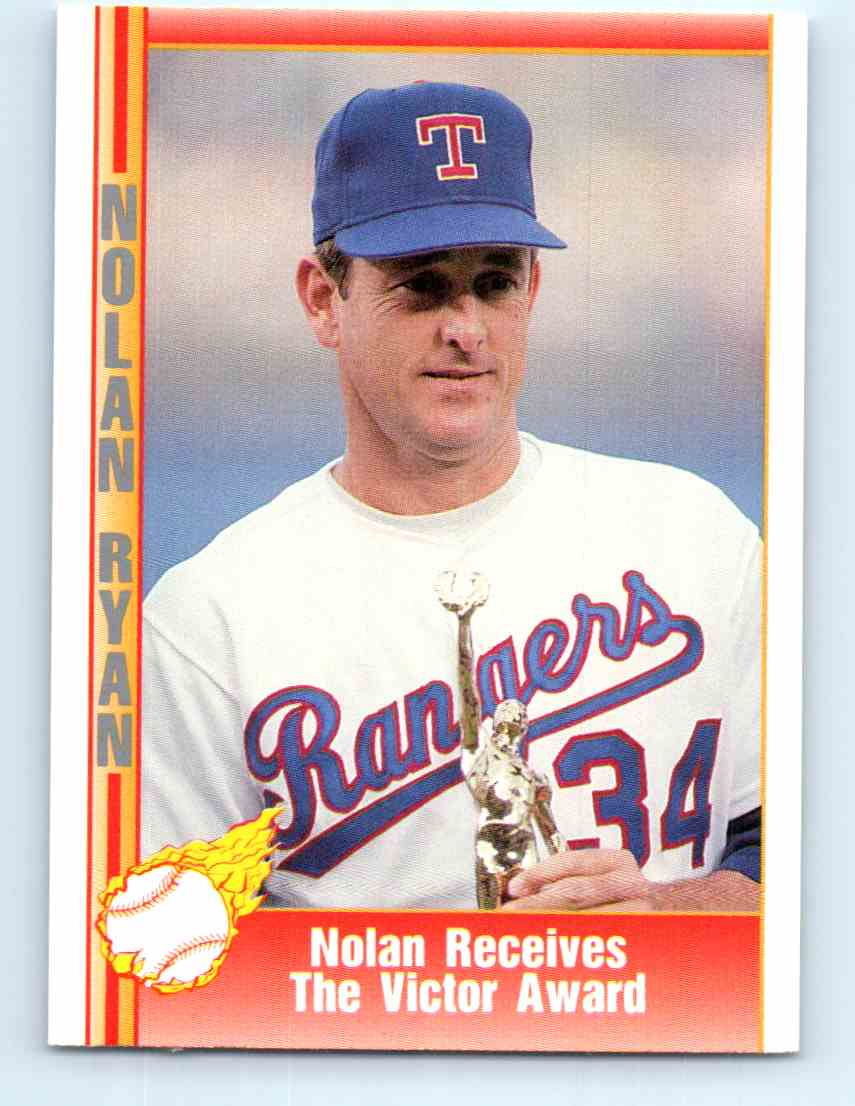 1991 Pacific Nolan Ryan Express Nolan Ryan 219 On Kronozio