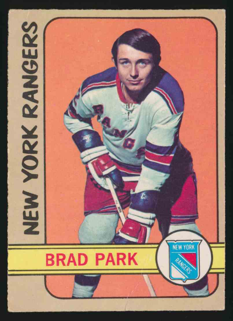 1972-73 0-Pee-Chee Brad Park - Vg #114 card front image