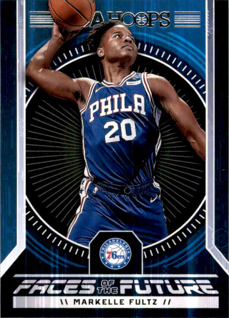 2017-18 Hoops Faces Of The Future Markelle Fultz #1 card front image