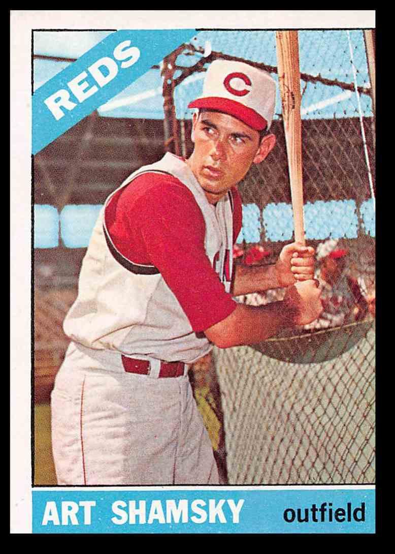 1966 Topps Art Shamsky Baseball Card 119 On Kronozio