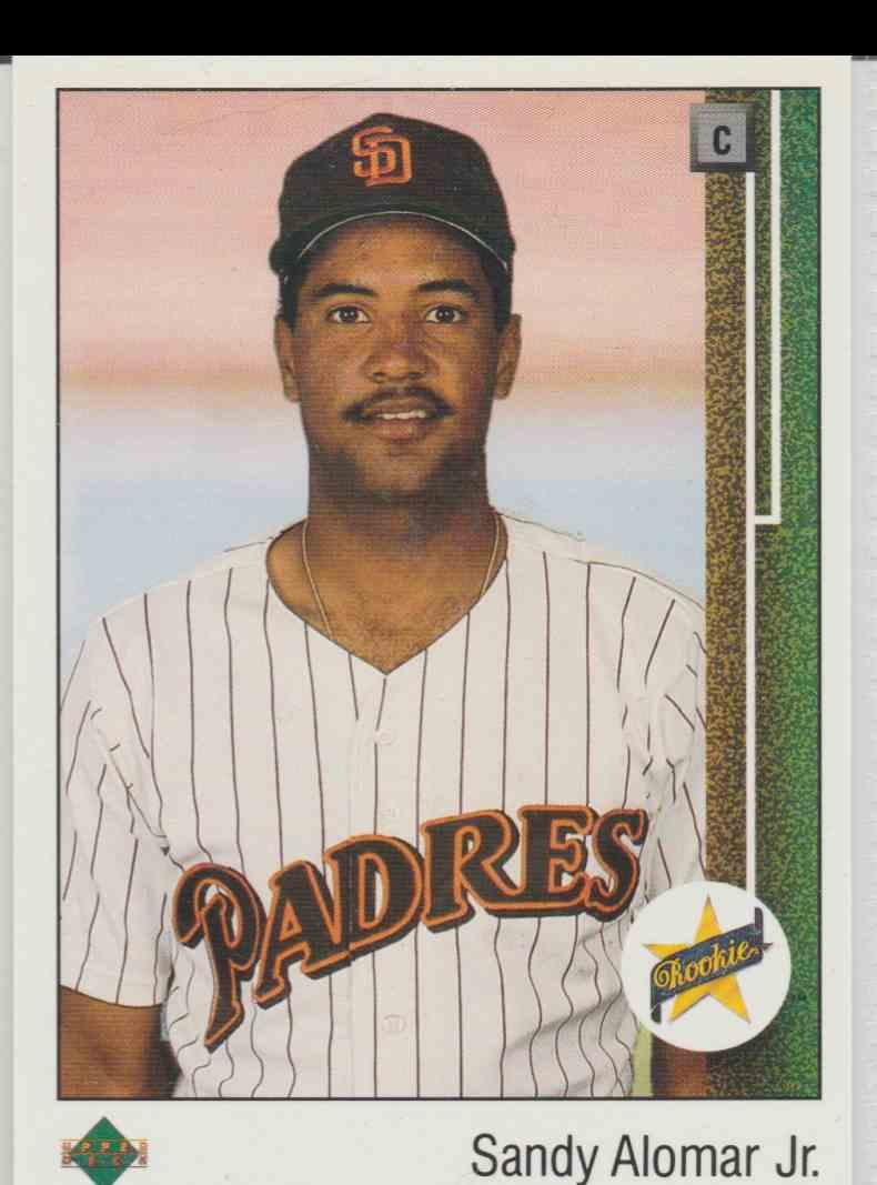 1989 Upper Deck Sandy Alomar JR. #5 card front image