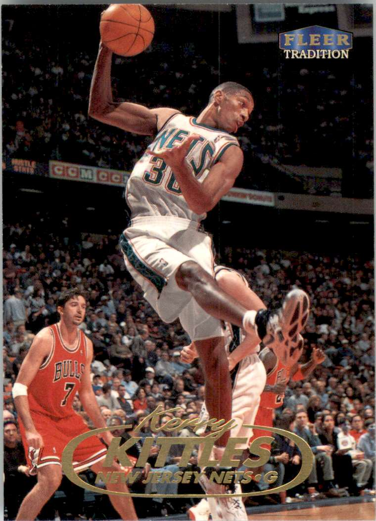 1998-99 Fleer Kerry Kittles #72 card front image