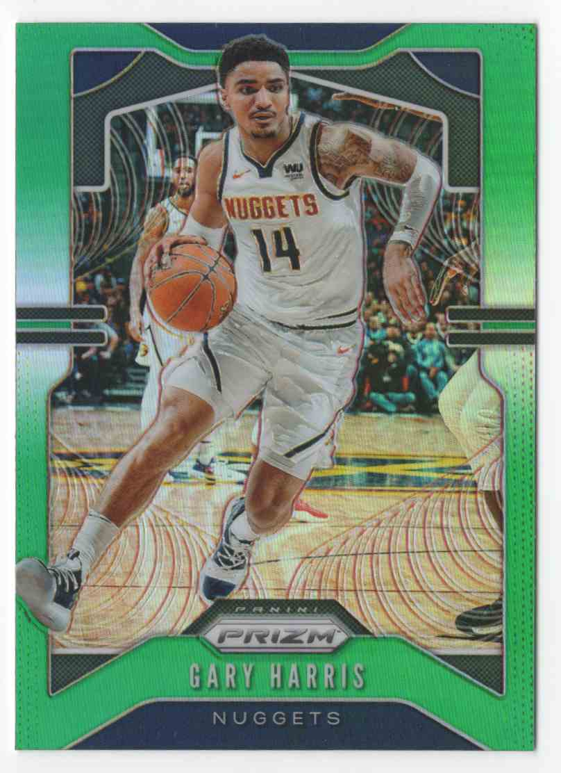 2019-20 Panini Prizm Prizms Green Gary Harris #89 card front image