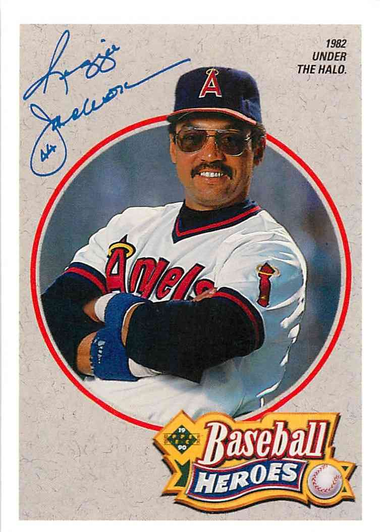 1992 Upper Deck Baseball Heroes Reginald Martinez Jackson 5 Of 9 On
