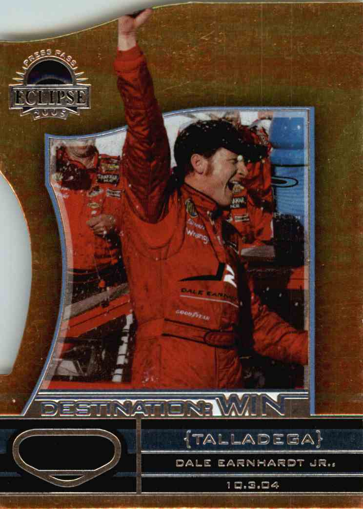2005 Press Pass Eclipse Dale Earnhardt JR. #DW23 card front image