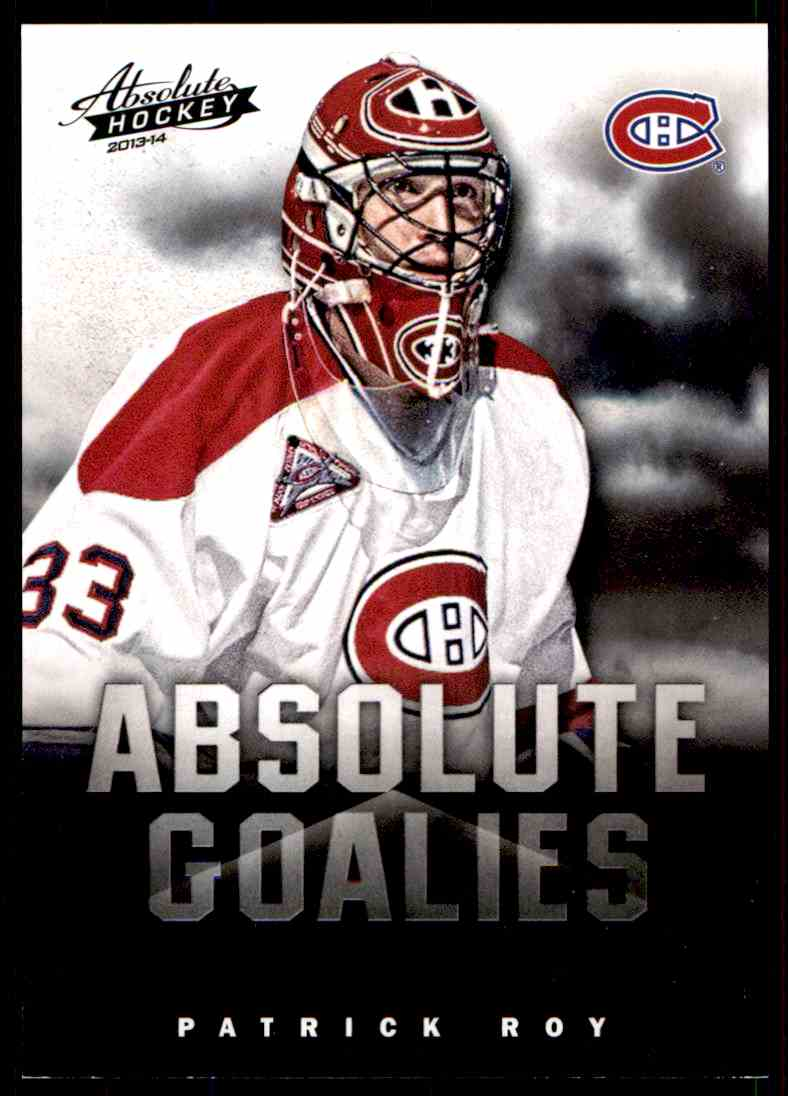 2013-14 Panini Absolute Hockey Patrick Roy #17 card front image