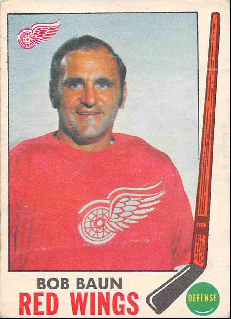 1969-70 O-Pee-Chee Bob Baun #57 card front image