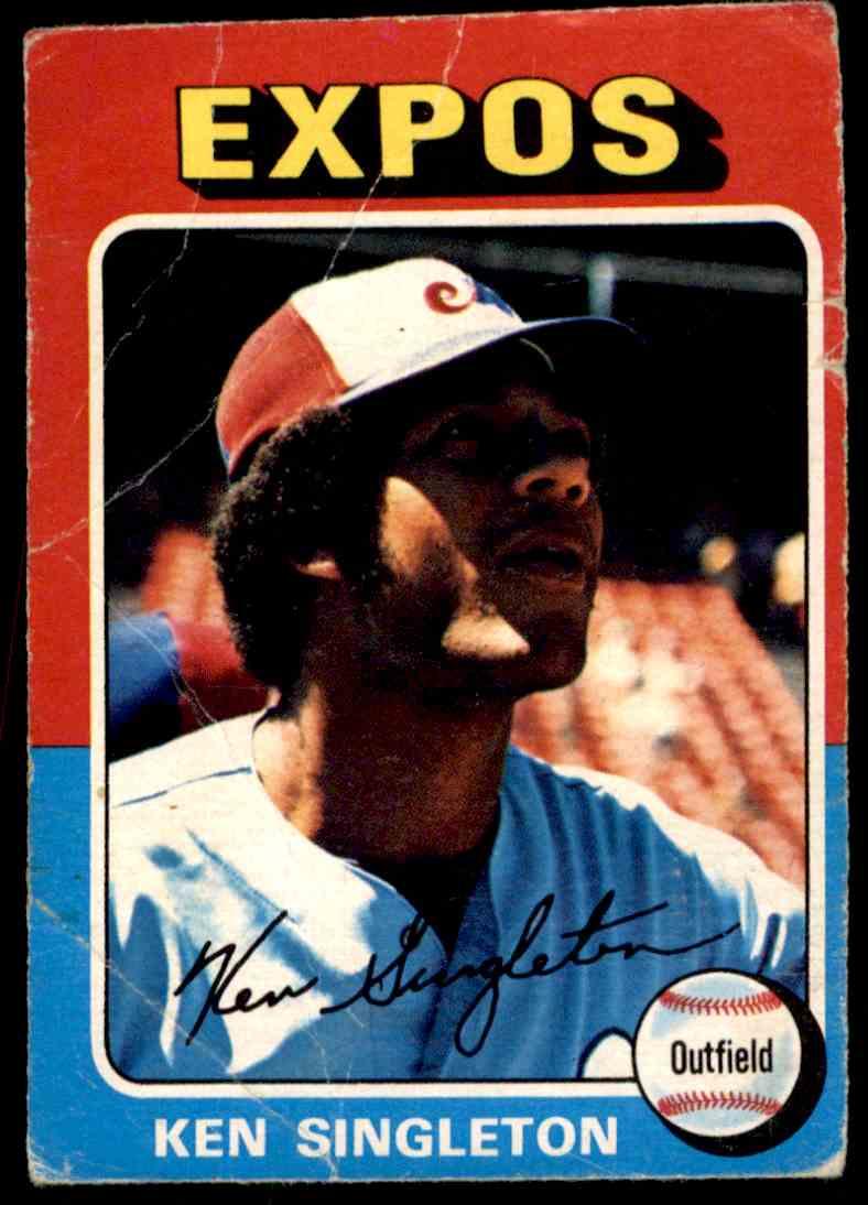 1975 O-Pee-Chee Ken Singleton #125 card front image