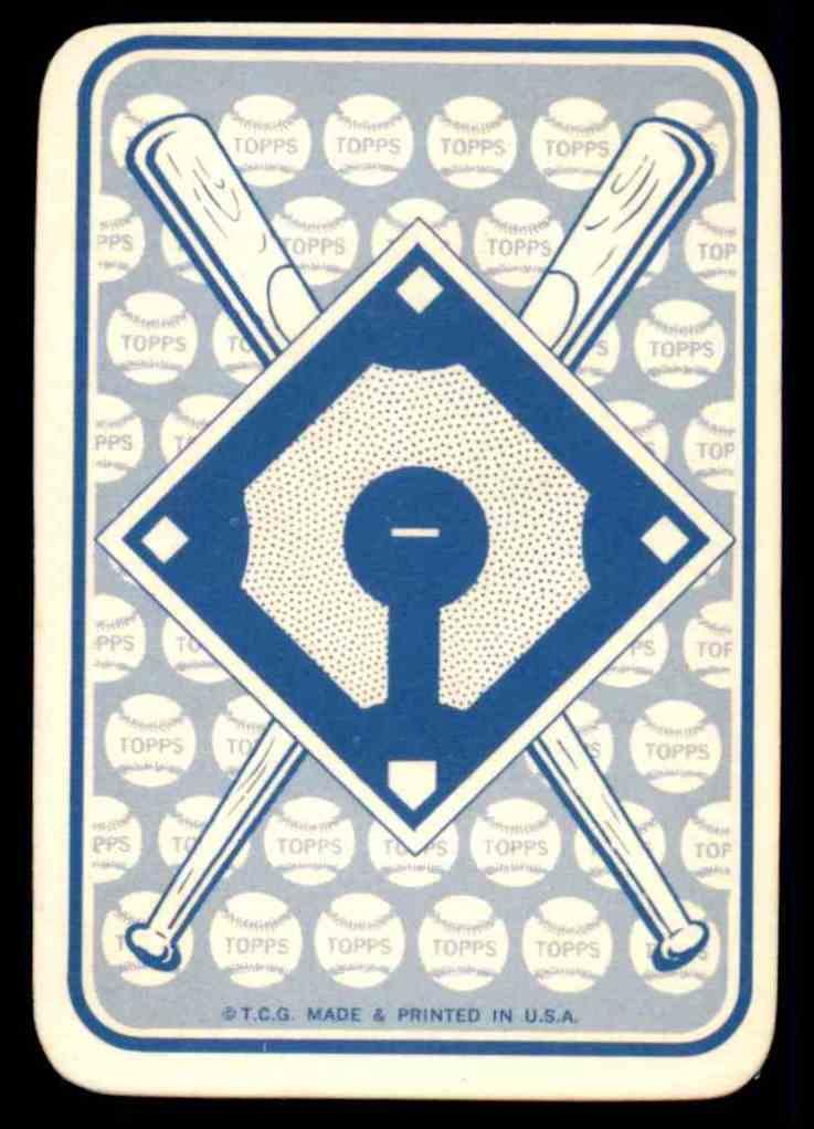 1968 Topps Game Joe Torre #31 card back image