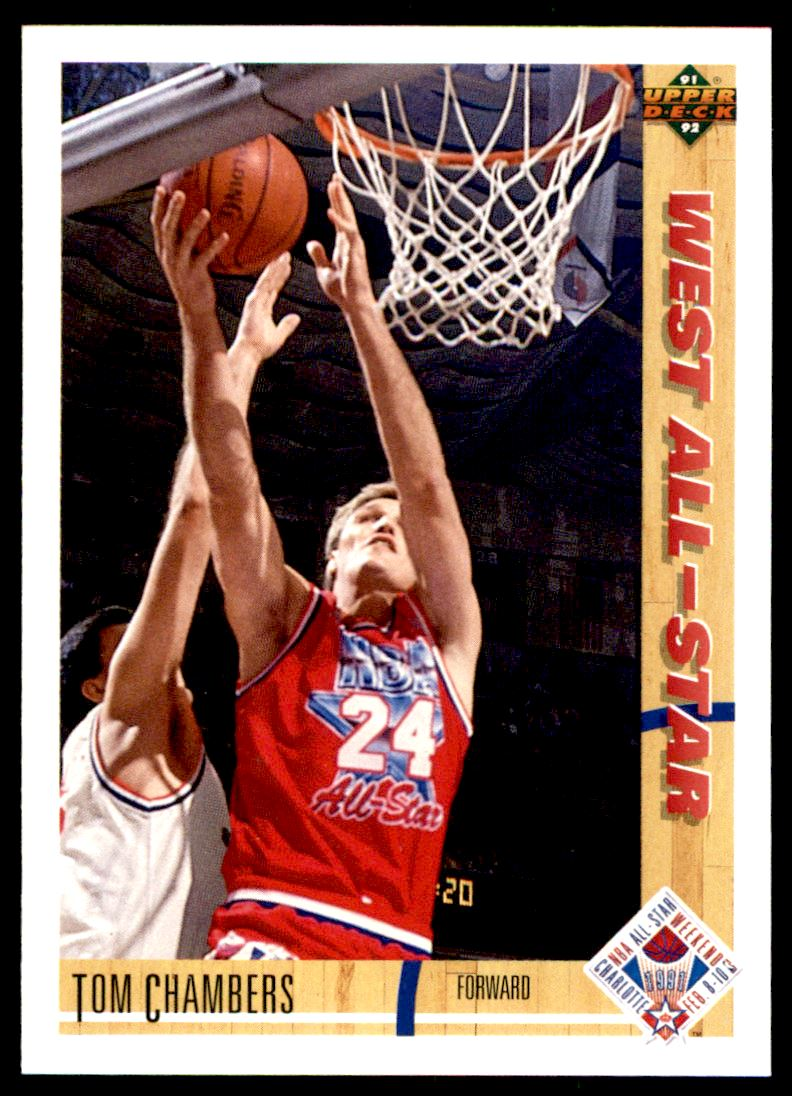 1991 92 Upper Deck Tom Chambers 56 On Kronozio