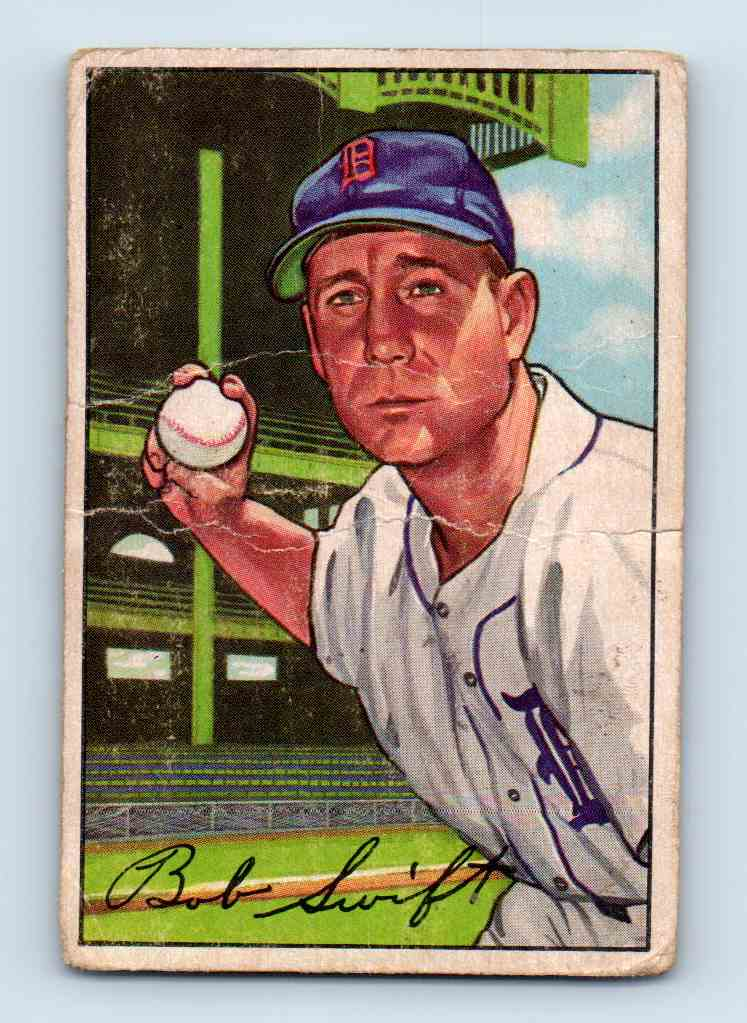 1952 Bowman Bob Swift #131 card front image