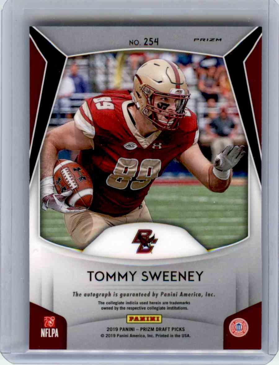 brand new 11d27 896f0 2019 Prizm Draft Silver Prizm Autograph Tommy Sweeney on ...
