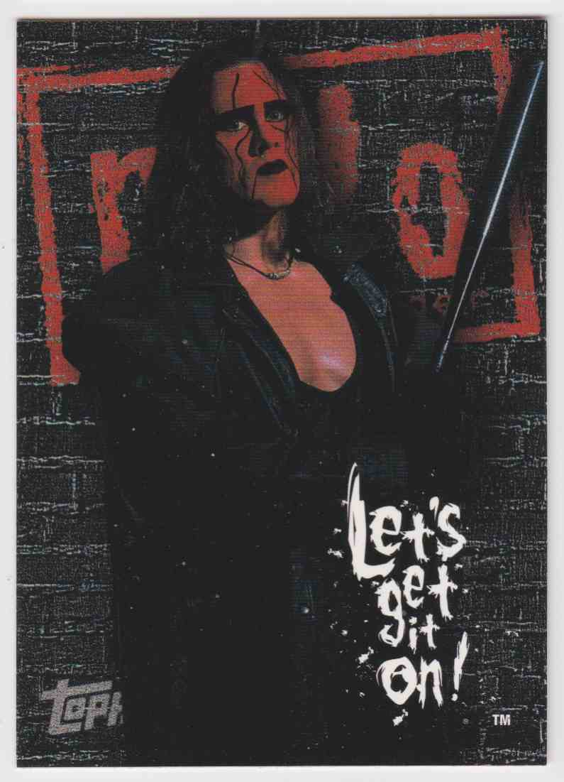 1998 Topps World Championship Wrestling Sting #P2 card front image