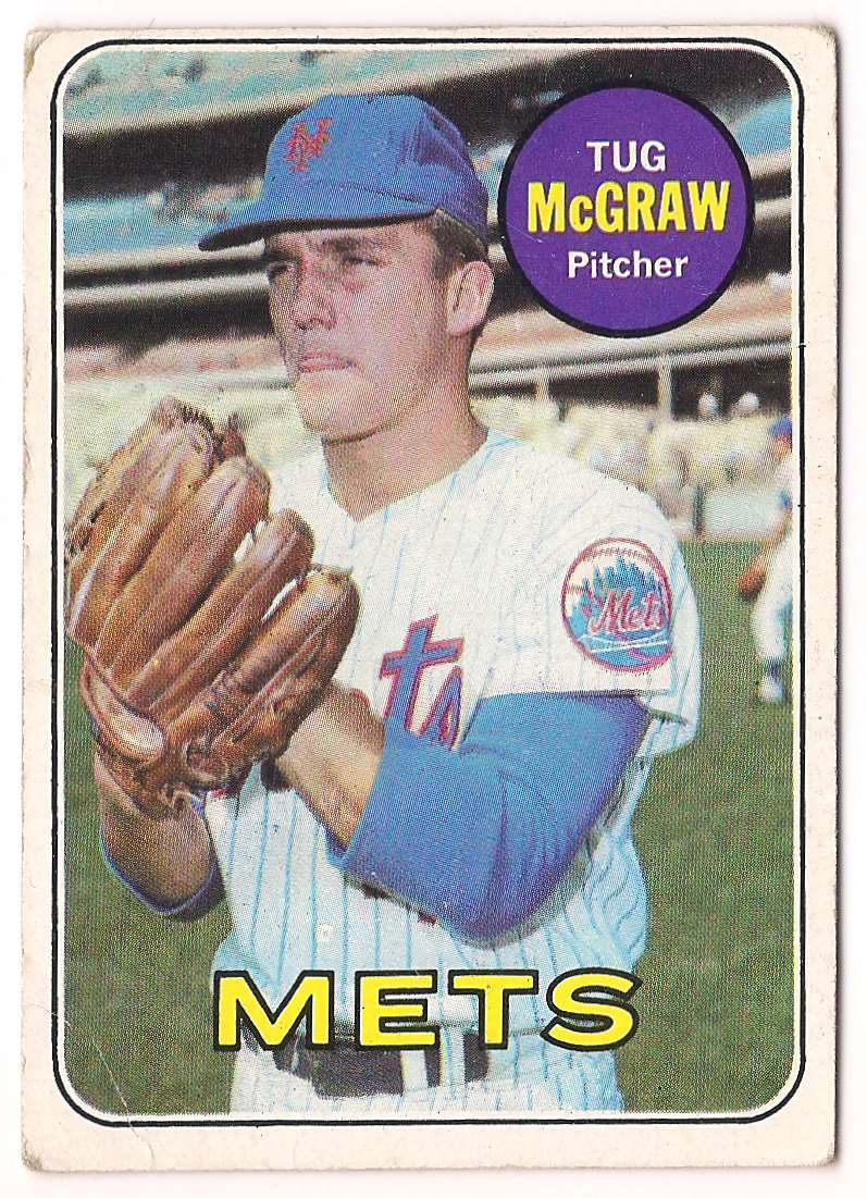 1969 Topps Tug McGraw #601 card front image
