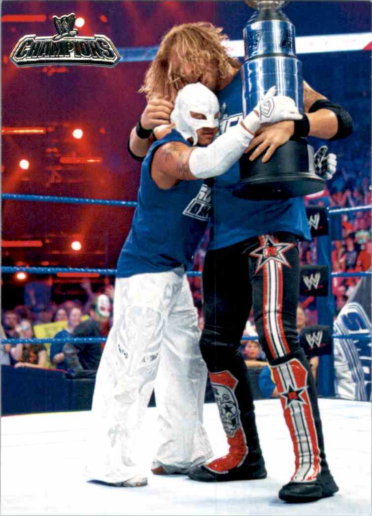 2011 Topps Wwe Champions Team SmackDown Wins Bragging Rights #53 card front image