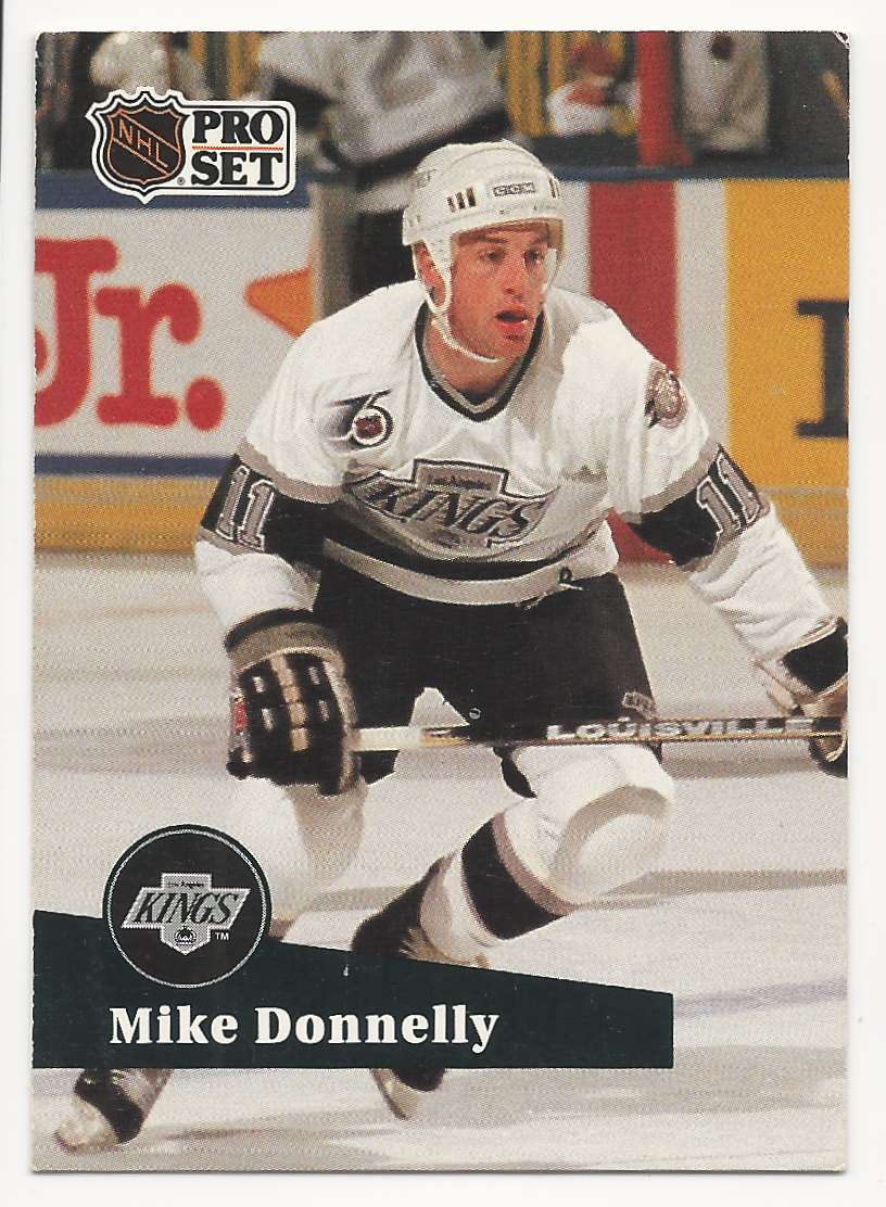 1991-92 Pro Set Mike Donnelly #399 card front image