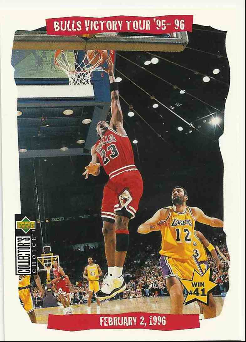 1996-97 Collector's Choice Michael Jordan #25 card front image
