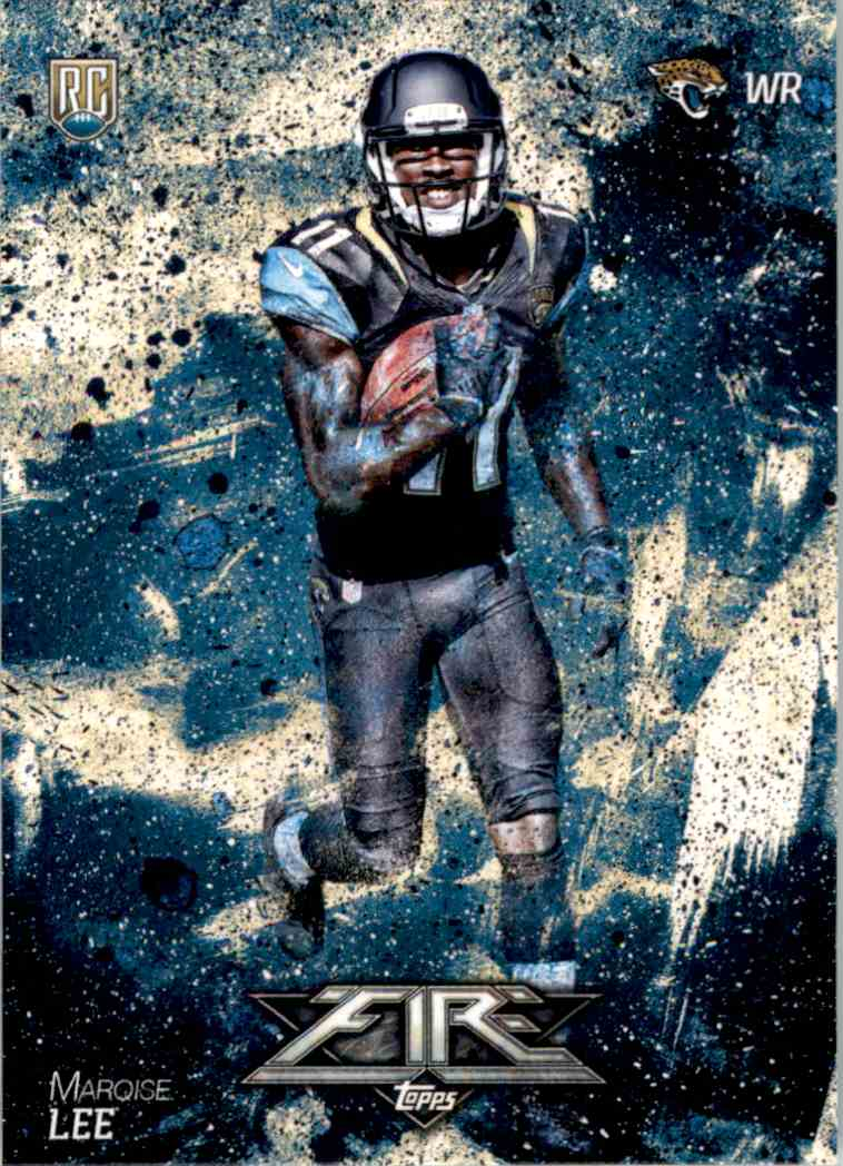 2014 Topps Fire Marqise Lee RC #126 card front image