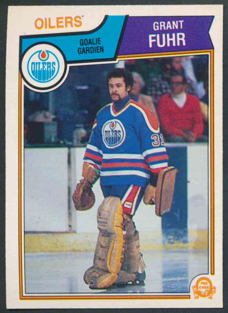 1983-84 O-Pee-Chee Grant Fuhr - Near Mint/Mint #27 card front image