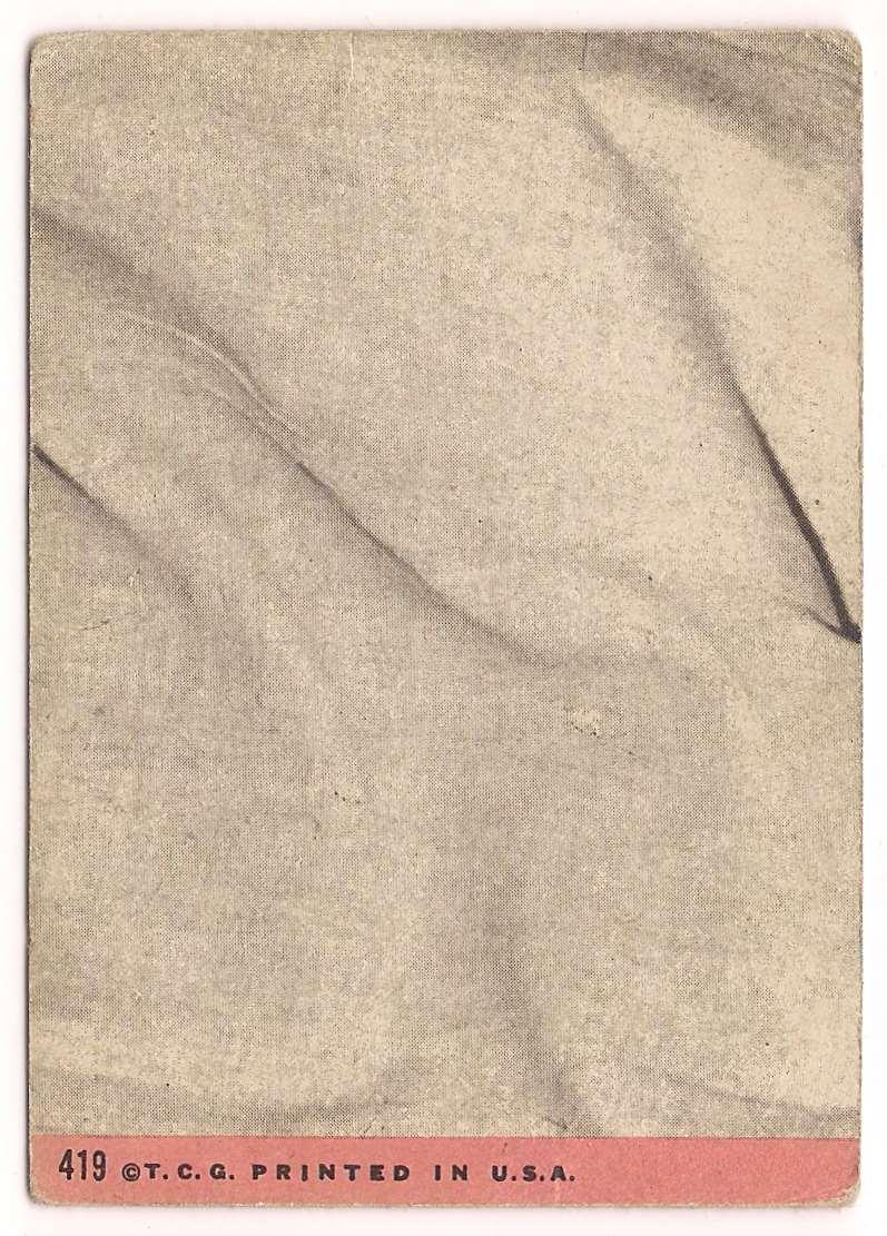1969 Topps Rod Carew #419 card back image