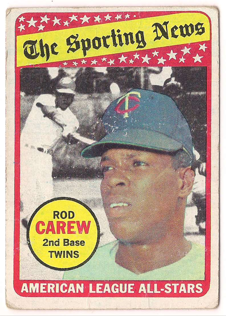 1969 Topps Rod Carew #419 card front image