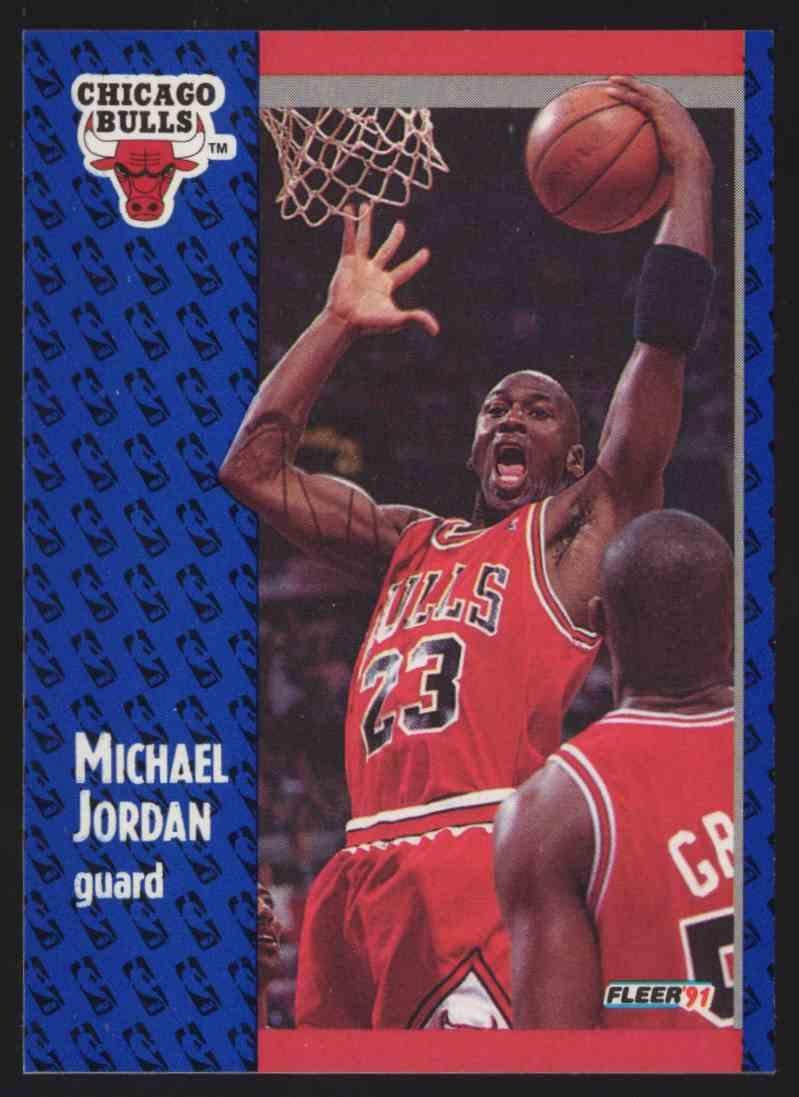 1991-92 Fleer Michael Jordan #29 card front image