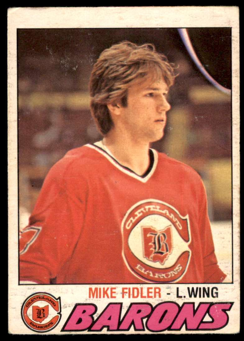 1977-78 OPC Mike Fidler #290 card front image