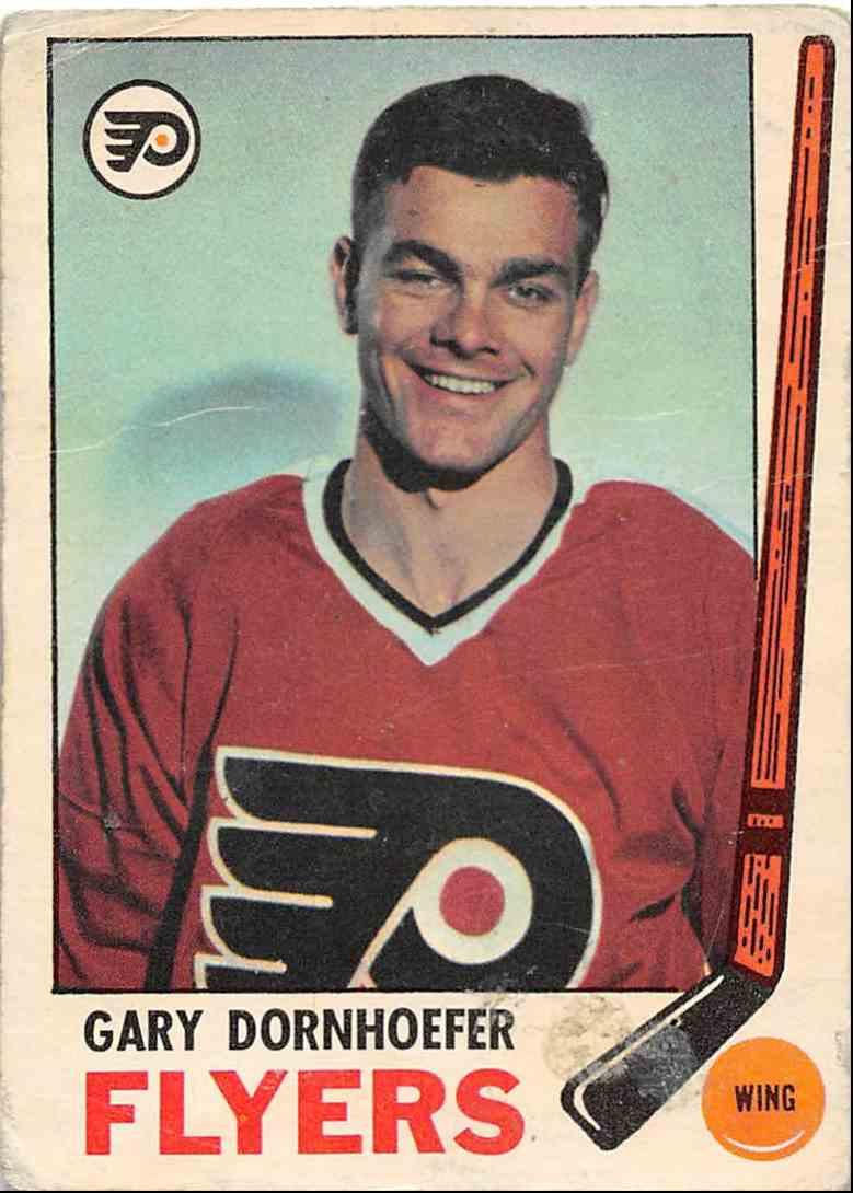 1969-70 O-Pee-Chee Gary Dornhoefer #94 card front image