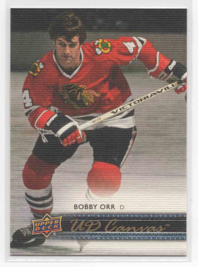 2014-15 Upper Deck Canvas Retired Stars Bobby Orr #C251 card front image
