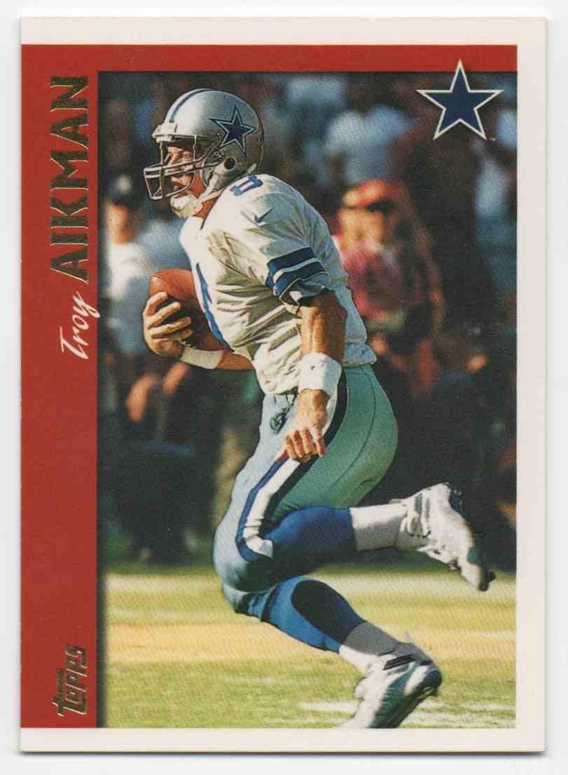 1997 Topps Troy Aikman #110 card front image