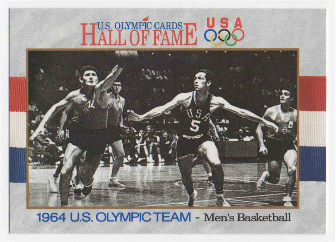 1991 Impel U.S. Olympic Hall Of Fame Bill Bradley #58 card front image
