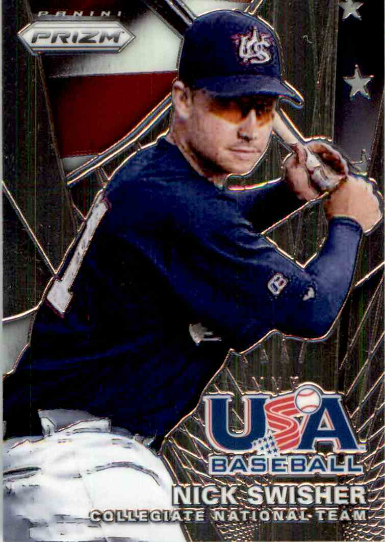 2015 Panini Prizm Usa Baseball Nick Swisher 6 On Kronozio