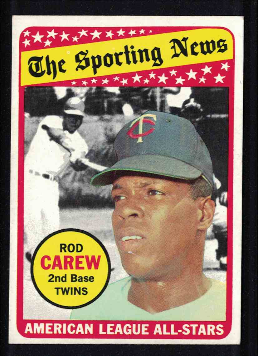 1969 Topps Rod Carew All-Star Ex+/Ex-MT #419 card front image