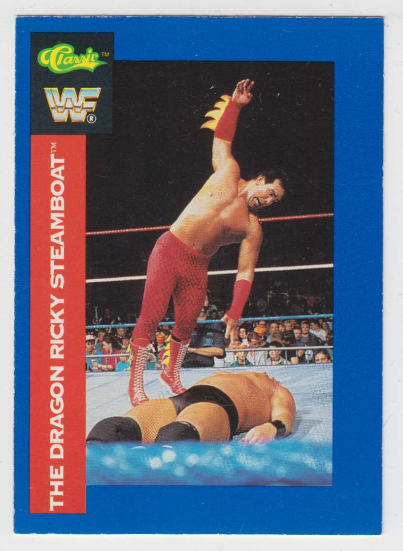 1991 Classic WWF Superstars The Dragon Ricky Steamboat #141 card front image