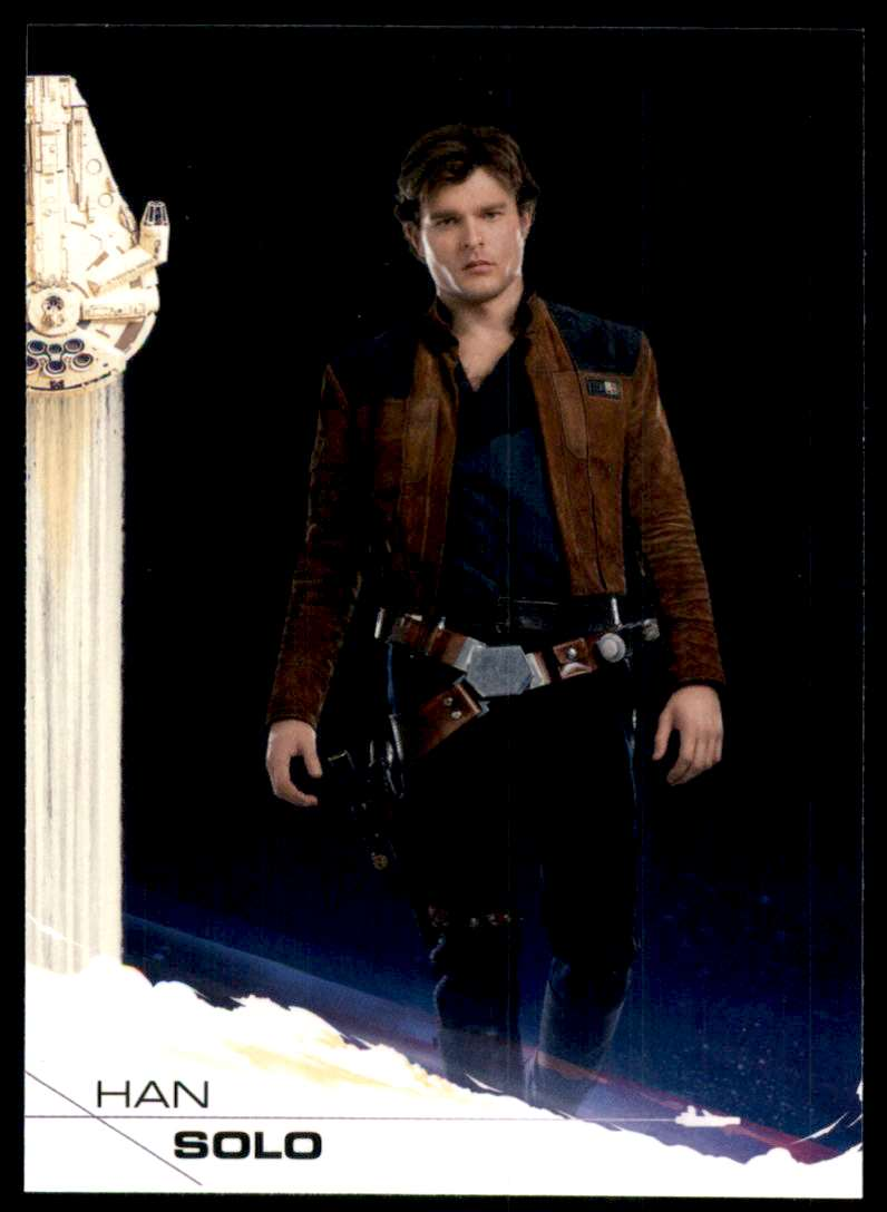 2018 Solo A Star Wars Story Han Solo #1 card front image