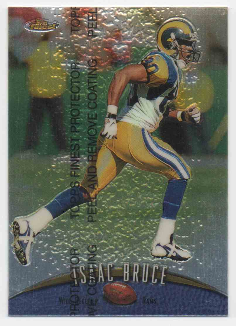 1998 Finest Isaac Bruce #25 card front image