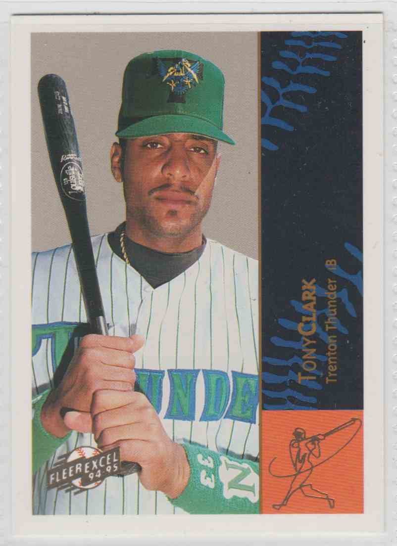 1995 1994 95 Fleer Excel Tony Clark 47 On Kronozio