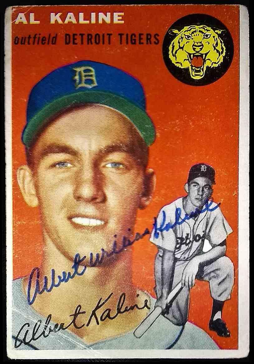 1954 Topps Al Kaline #201 card front image
