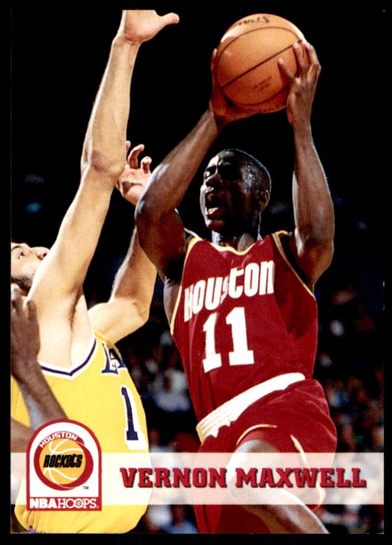 1993 94 hoops Vernon Maxwell 80 on Kronozio