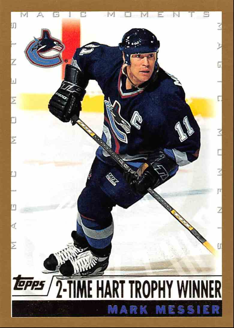 1999-00 Topps Mark Messier MM 2-Time Hart Trophy Winner #283D card front image