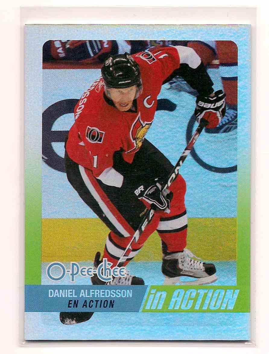 2010-11 O-Pee-Chee Daniel Alfredsson #IA-26 card front image