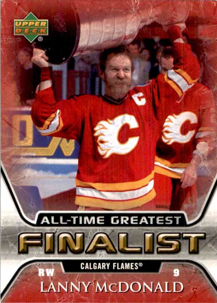 2005-06 Upper Deck All Time Greatest Lanny McDonald #10 card front image