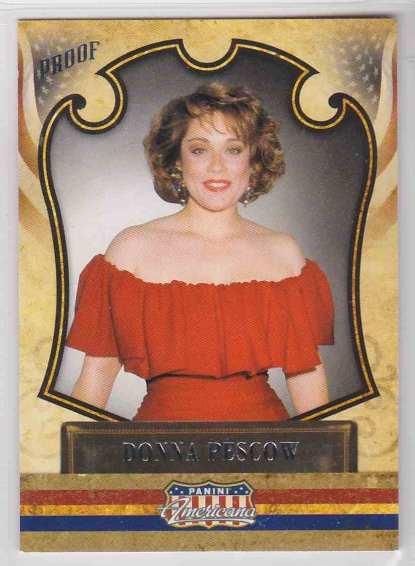 2011 Panini Americana Donna Pescow #74 card front image